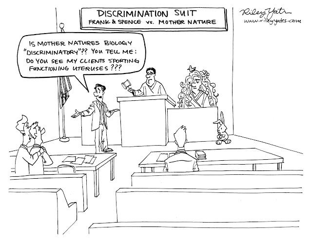 Discrimination cartoon, gays, homosexual cartoon