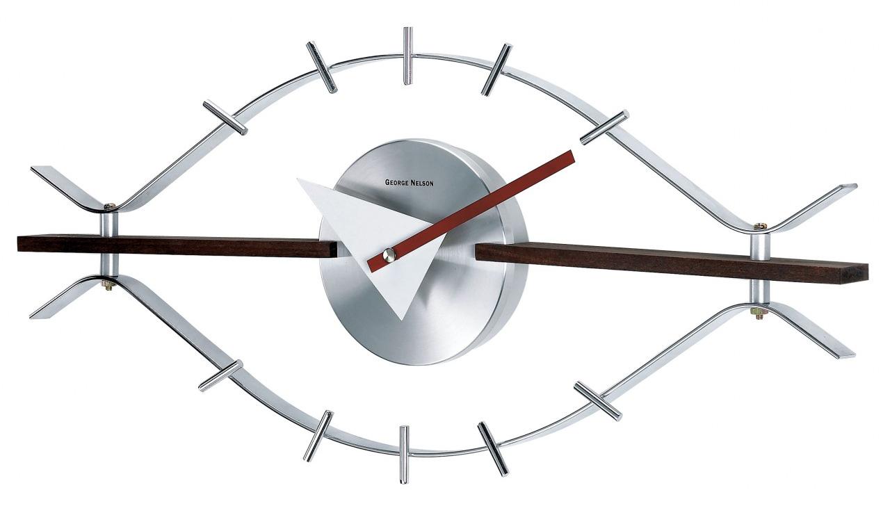 garimpo design eye clock george nelson. Black Bedroom Furniture Sets. Home Design Ideas