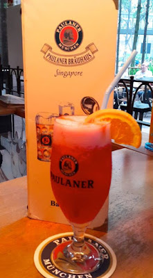 A Cocktail and The Three Bites, Paulaner Brauhaus