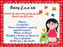 Promoção no blog da Dany Eva'rte