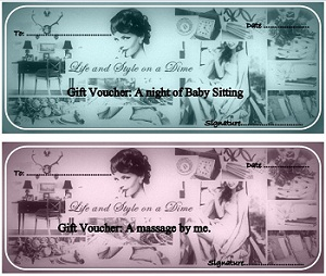 Free Printable Gift Vouchers