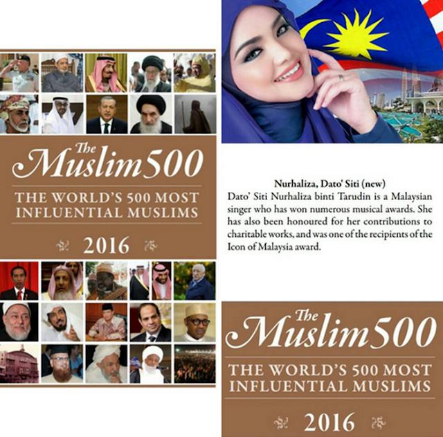 Siti Nurhaliza Diiktiraf 500 Muslim Paling Berpengaruh Dunia