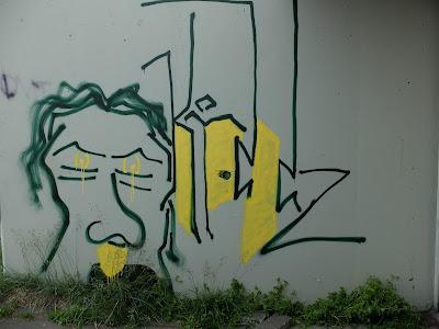 Reykjavik Face Graffiti