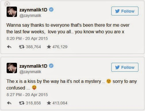Zayn Malik Tweets For The First Time Since Leaving One Direction