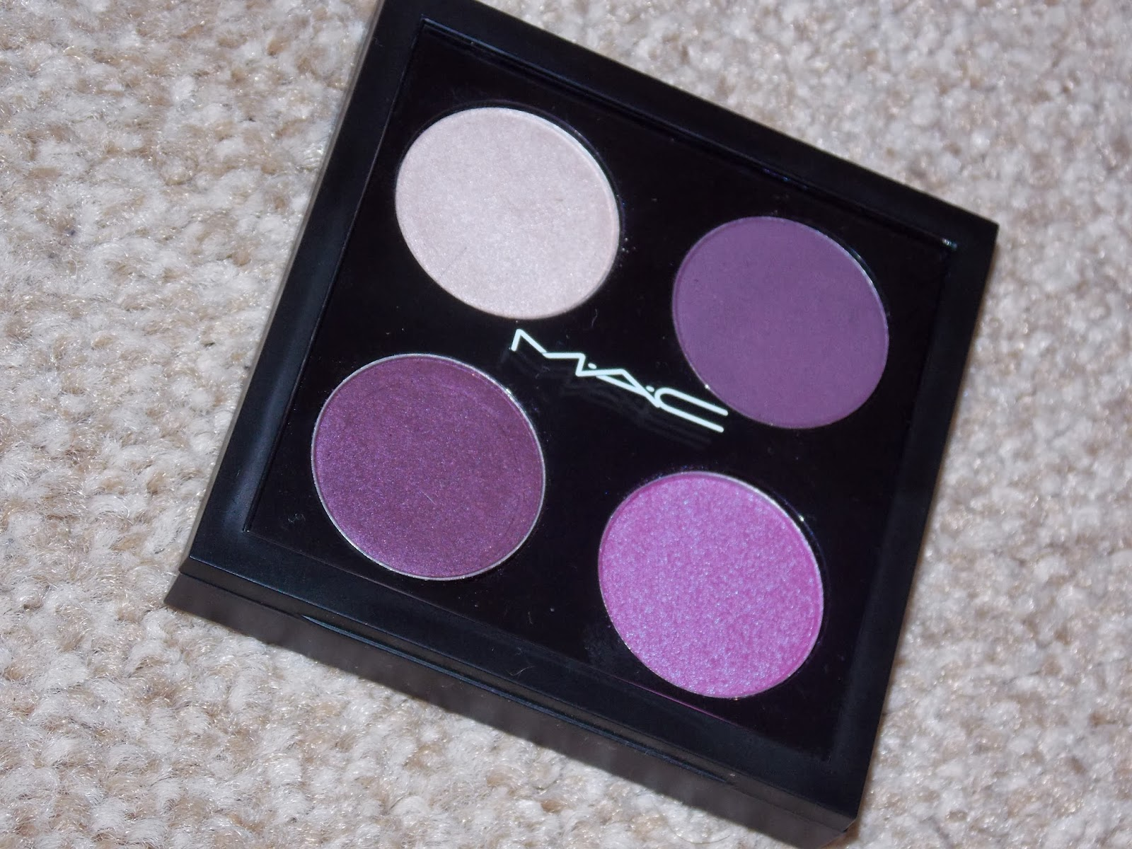 MAC cosmetics build your own eyeshadow palette