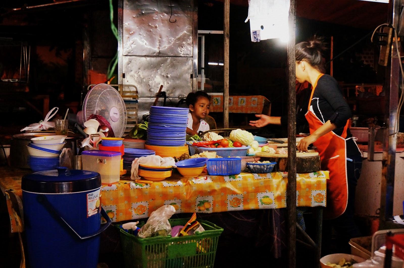 Kota Bharu - Marché de nuit