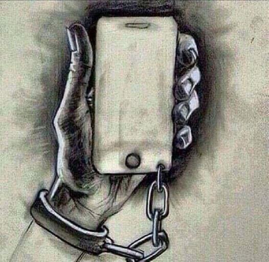 slave of smartphones