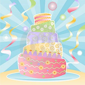 October Cake Clip Art : The Adventures of the Empress of the Universe: Happy ...