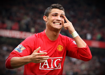 Cristiano Ronaldo in Manchester United