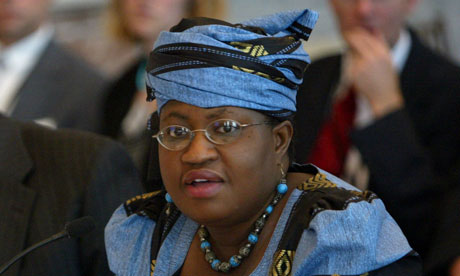 Ngozi Okonjo-Iweala on Forbe's Most Powerful Women of the Year