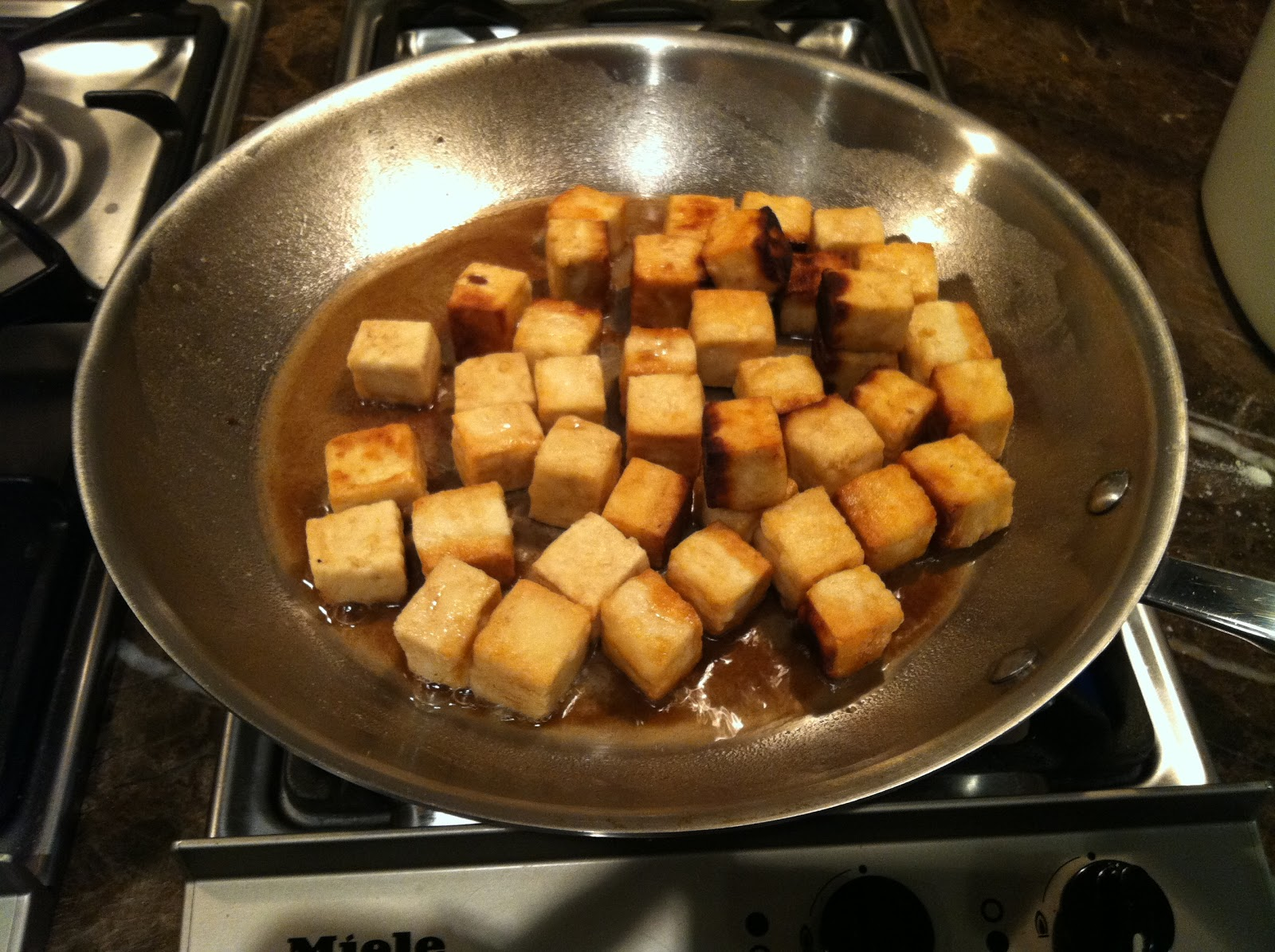 Sweet and Sour Tofu with Bok Choy (adapted from Big Girls, Small ...
