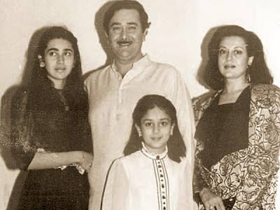 Karishma Kapoor Childhood Pictures