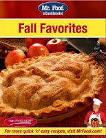 Free eCookbook:  Mr. Food Fall Favorites