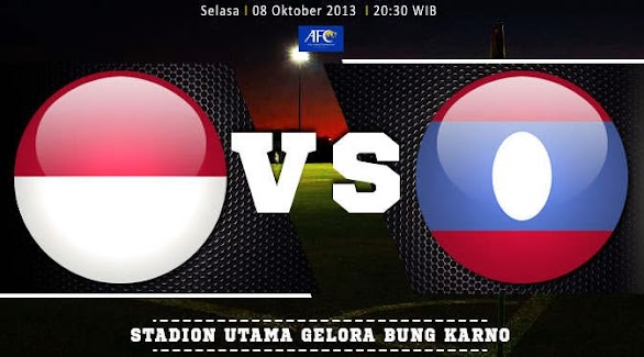 Saksikan Indonesia vs Laos 8 Oktober 2013 di Indovision