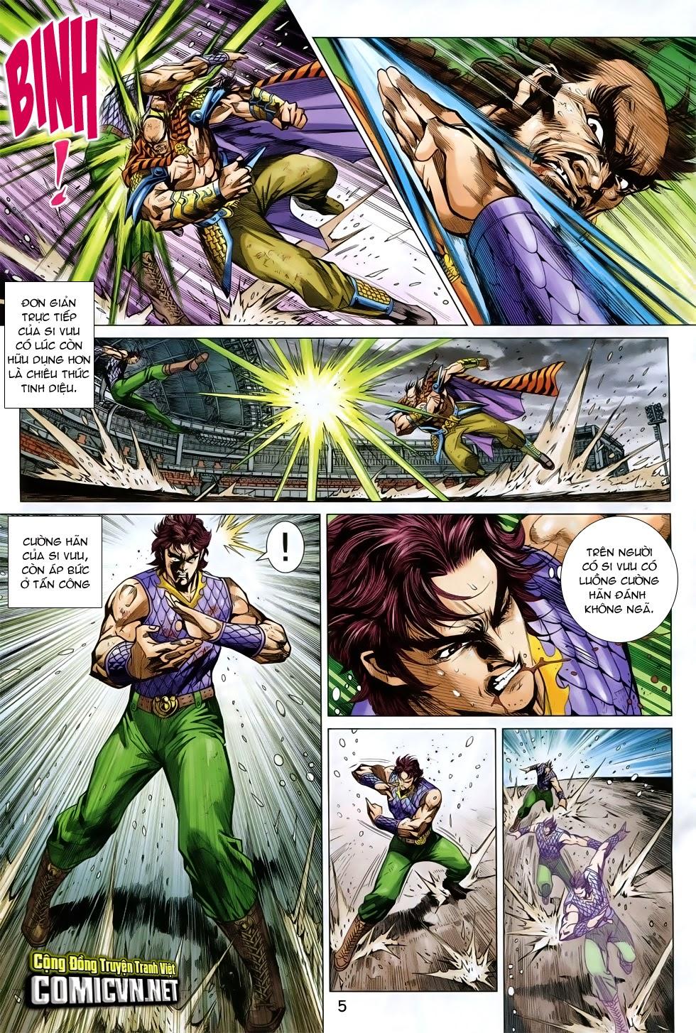 Tân Tác Long Hổ Môn chap 758 - Trang 5