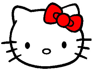 Hello Kitty Kartun - Kepala