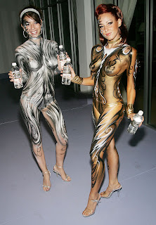 Body paint Clothing