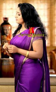 mallufun   kavya madhavan latest hot pics in saree and