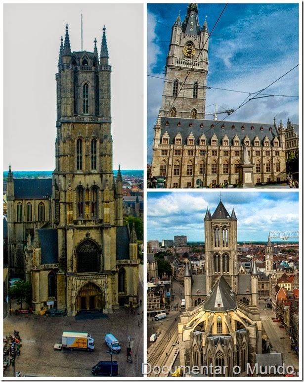 Torres de Gent; Flandres; Bélgica; Gent Top 5