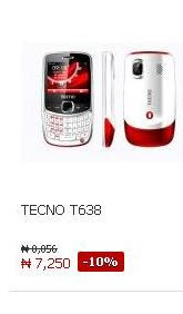 Tecno Phones at Jumia Online Store