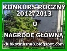 KONKURS ROCZNY 2012/2013