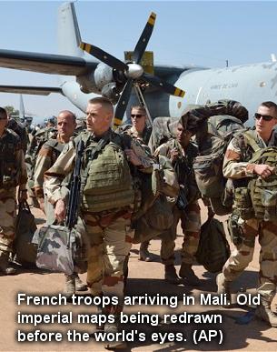 Negara Mali Dikerumuni Bangsa-Bangsa Penjajah