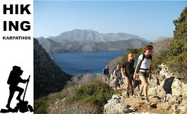 Medical care for hikers in Karpathos