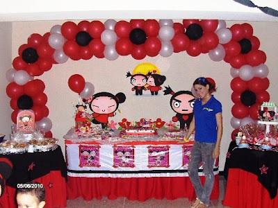 Pucca decoraci n de fiestas de cumplea os infantiles - Blog de decoracion infantil ...