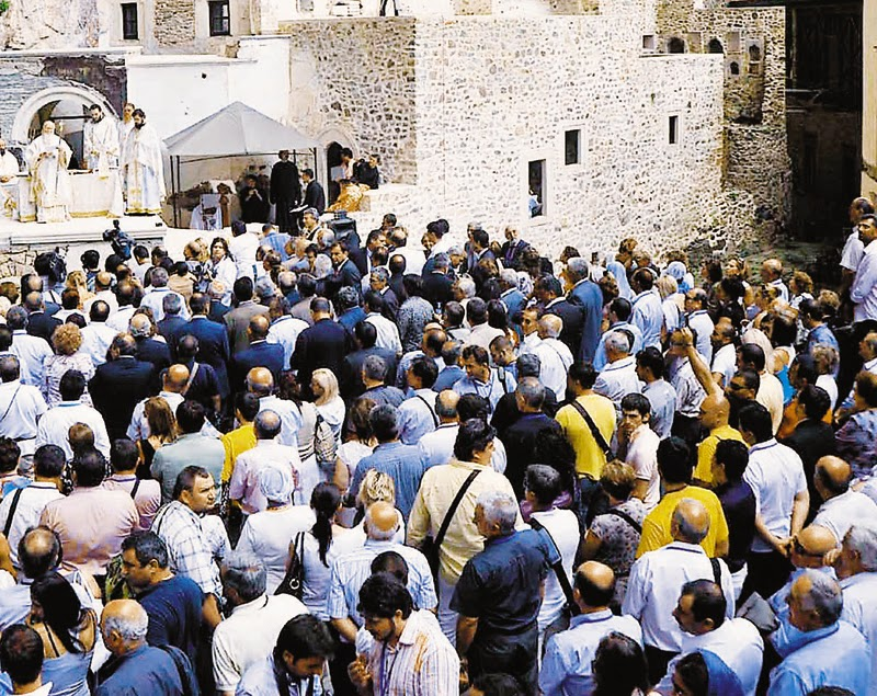 Προσκύνημα στην Παναγία Σουμελά τον Δεκαπενταύγουστο