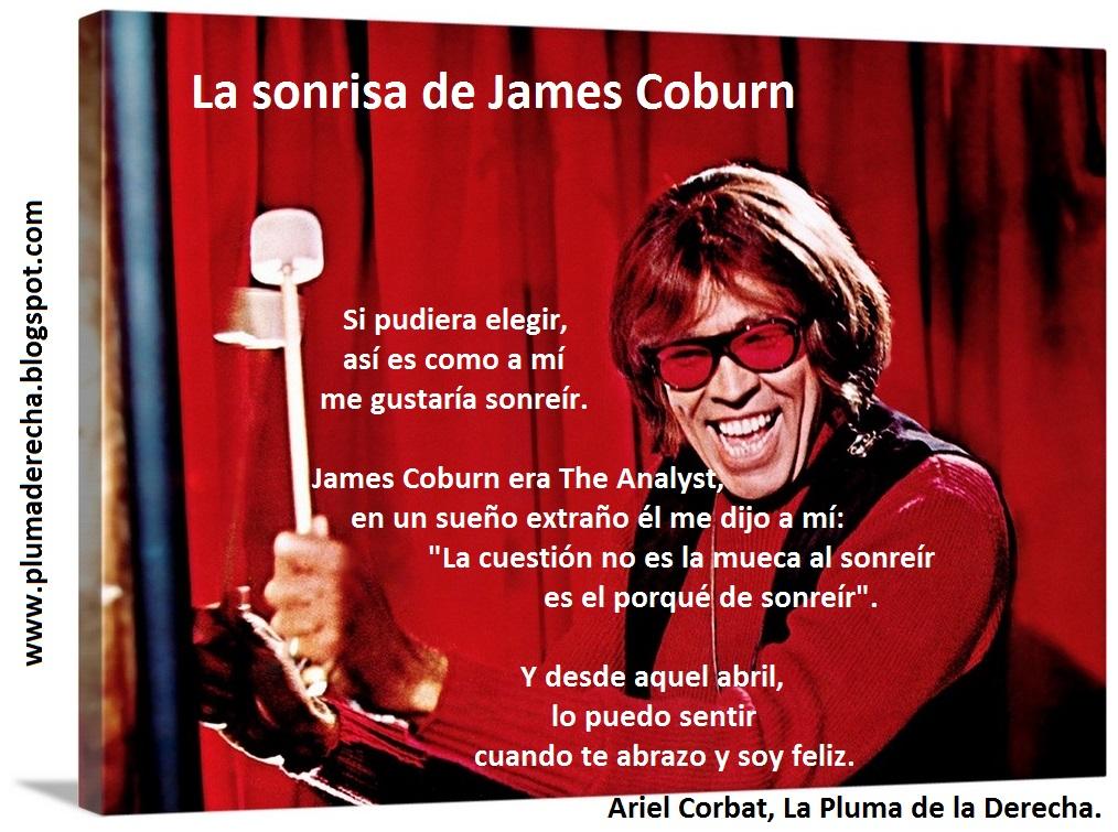 LA SONRISA DE JAMES COBURN