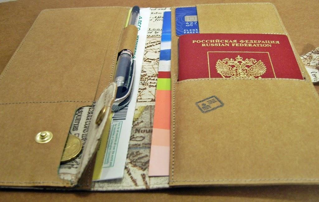 Холдер для документов - лучший подарок путешественнку