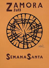 Cartel Semana Santa Zamora 2013