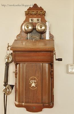 vanhamallinen puhelin, old phone, Ericsson