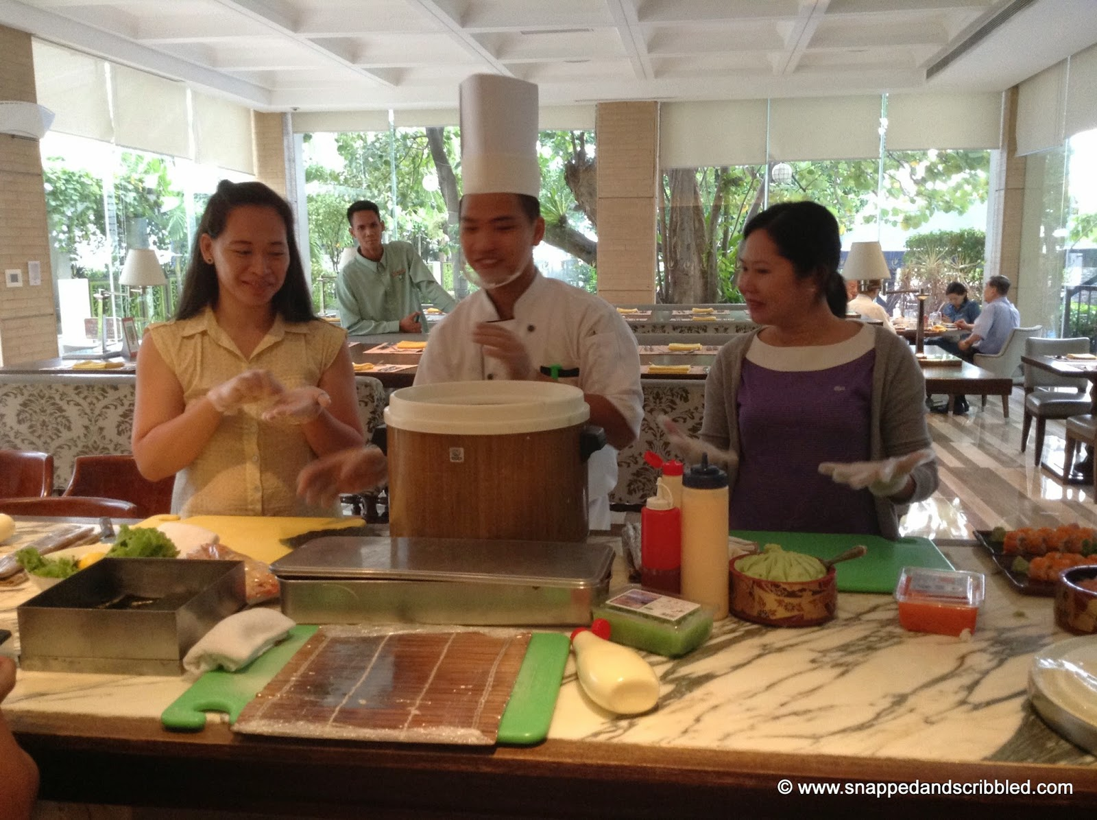 #MyManilaHotel Tour: How To Make A California Maki Roll
