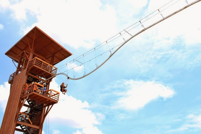 Roller Coaster Zipline in Porac, Pampanga