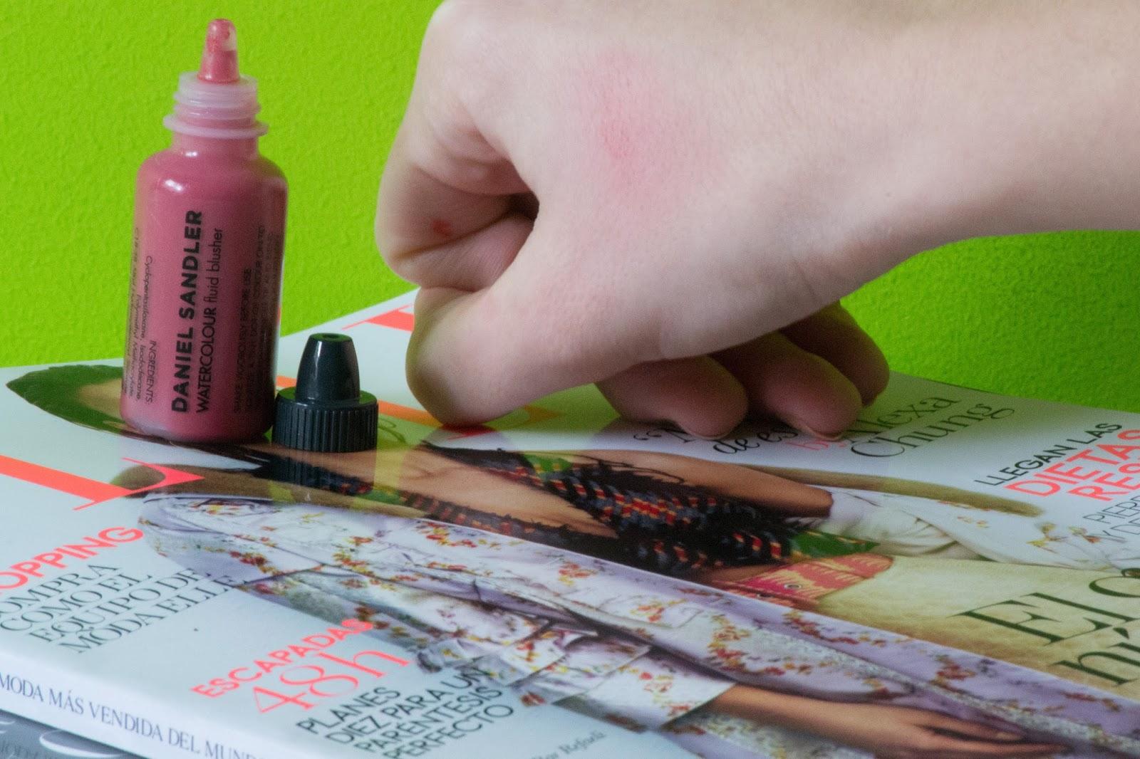 Daniel Sandler, Watercolour Fluid Blusher, Dare.