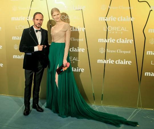 Anna Martinova con el diseñador Josep Font