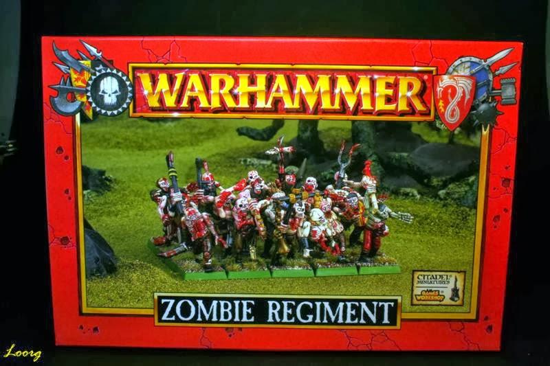 Portada de la caja de Regimiento de Zombis