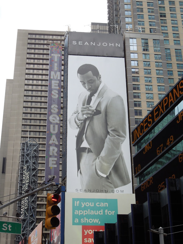 Sean John billboard Times Square NYC