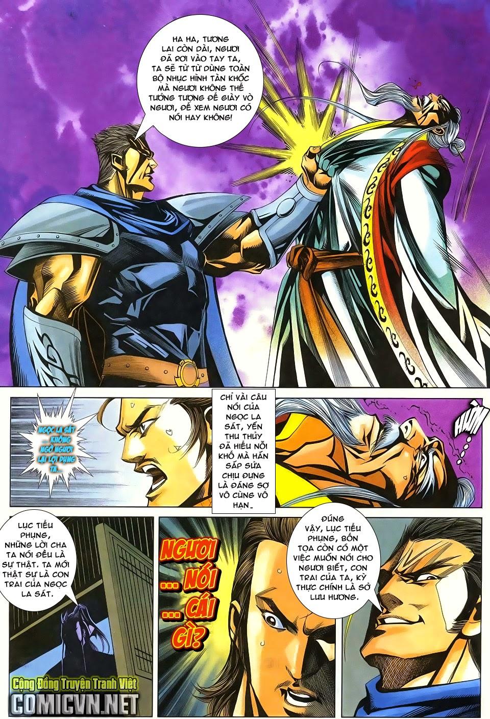 Cổ Long Quần Hiệp Truyện chap 84 Trang 31 - Mangak.info