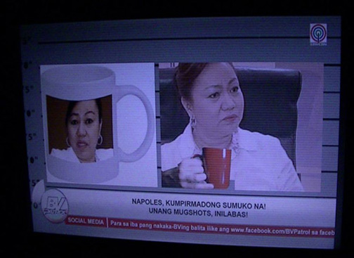 Janet-Lim Napoles' Latest Meme - Mugshots
