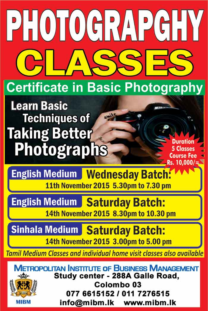 This course is for every one with an interest in photography.It is intended to help beginners getting started in photography,and become so good at it that they turn in to advanced amaturs.