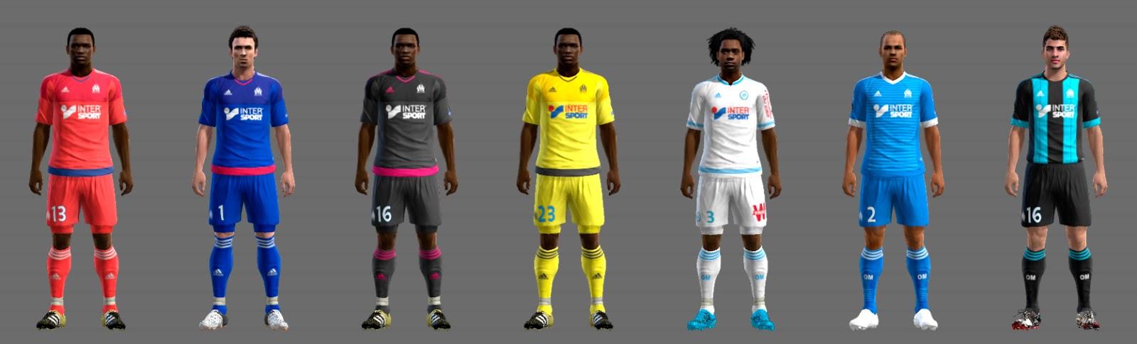 Olympique Marseille GDB 2015-16 UPDATE