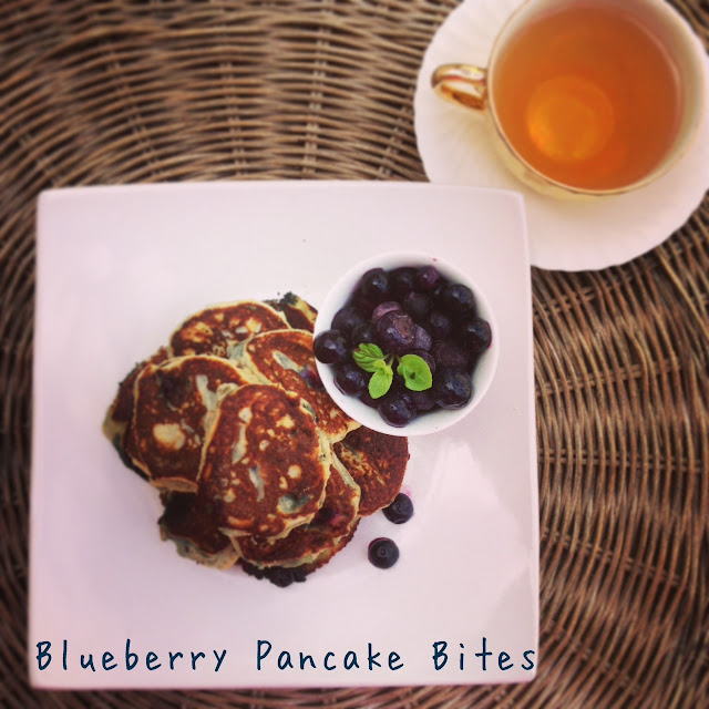 blueberry pancake bites >> STARTS WITH CUPCAKES