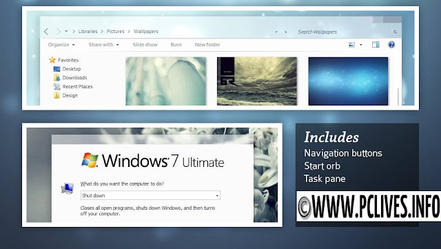download full version [Windows 7 Themes] Creme [x86 & x64] free