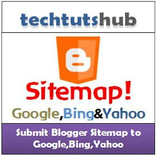 Verify and Submit Blogger Sitemap on Google,Bing,Yahoo and ping them without any crawl and indexing errors 2012