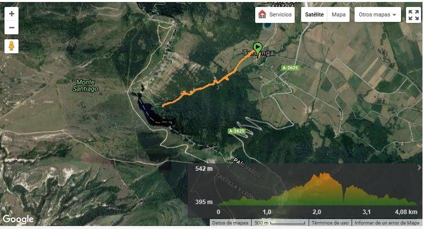 Cascadas del rio Orduña