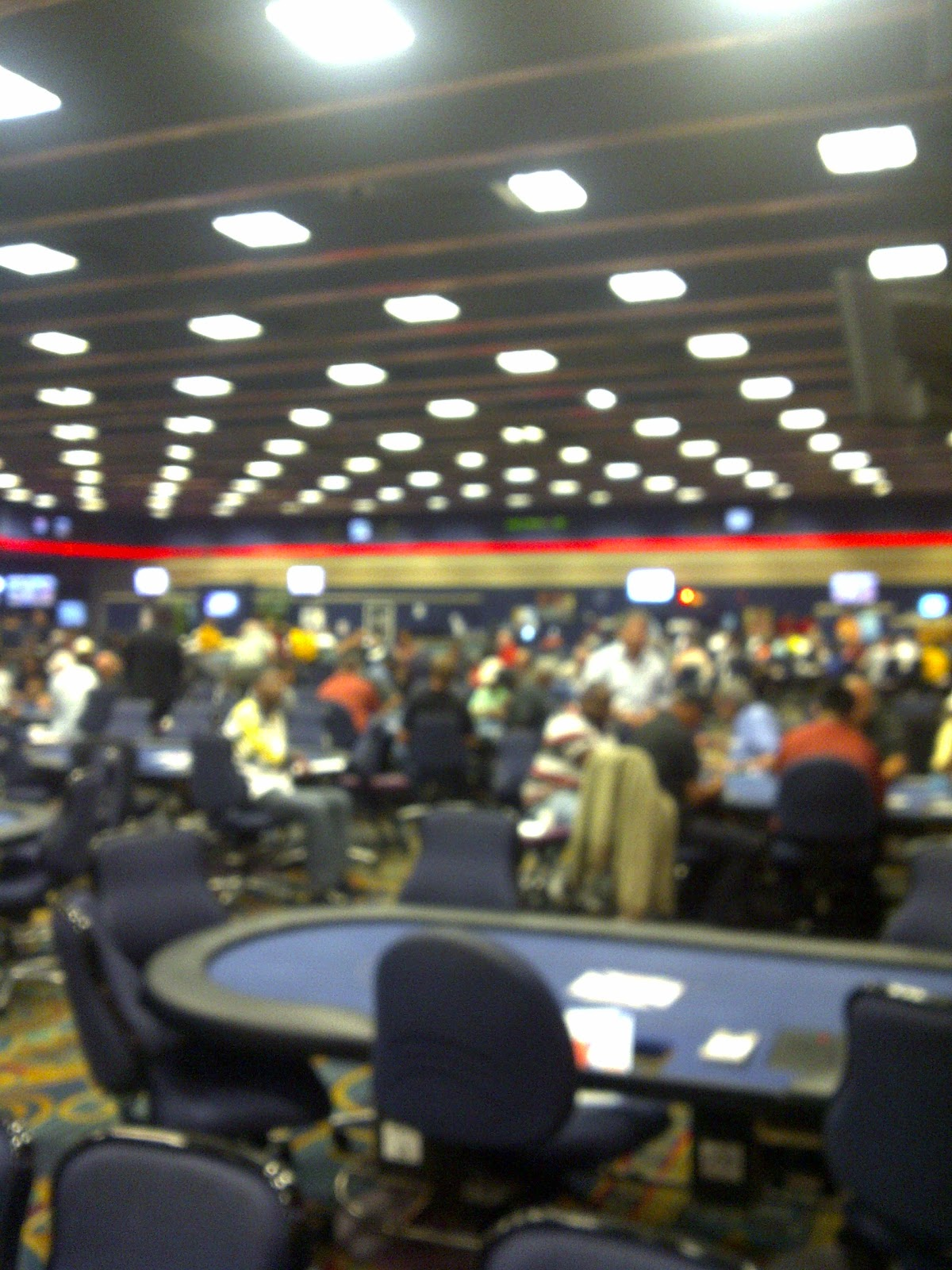Craps at hollywood park