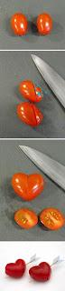 Como Hacer Corazones con Tomate, Ideas para San Valentin