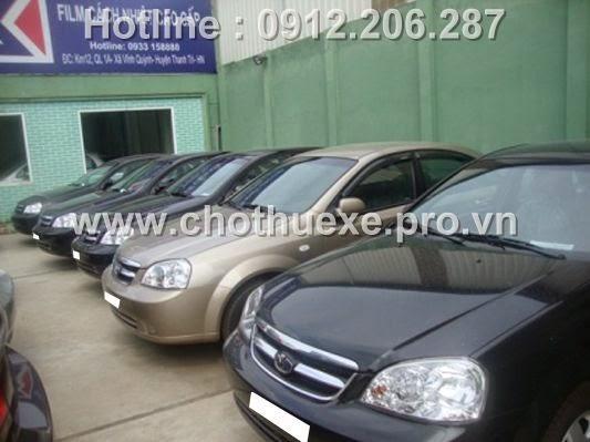 Cho thuê xe du lịch 4 chỗ Chevrolet Lacetti EX